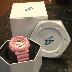 Pink Baby G-Shock Analog/Digital watch